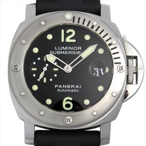 48回払いまで無金利 SALE パネライ ルミノール サブマーシブル R番 PAM00024 未使用 メンズ 腕時計|ginzarasin