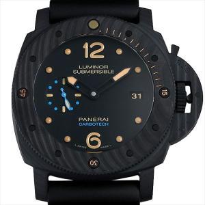 48回払いまで無金利 48回払いまで無金利 パネライ ルミノールサブマーシブル 1950 カーボテック 3デイズ オートマティック R番 PAM00616 未使用 メンズ 腕時計|ginzarasin