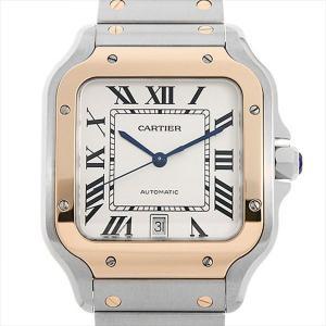48回払いまで無金利 カルティエ サントス ドゥ カルティエ LM W2SA0006 未使用 メンズ 腕時計|ginzarasin