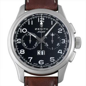 ゼニス パイロット ビッグデイト スペシャル 03.2410.4010/21.C722 中古 メンズ 腕時計|ginzarasin