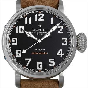 ゼニス パイロット タイプ20 エクストラスペシャル 03.2430.3000/21.C738 中古 メンズ 腕時計|ginzarasin