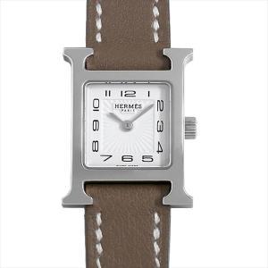 48回払いまで無金利 エルメス Hウォッチ ミニ 037883WW00(HH1.110) 中古 レディース 腕時計|ginzarasin