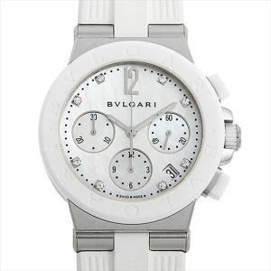 60回払いまで無金利 ブルガリ ディアゴノ クロノグラフ 101993(DG37WSCVDCH/8) 中古 ボーイズ(ユニセックス) 腕時計|ginzarasin