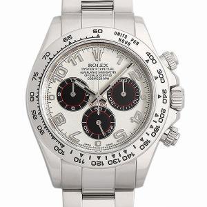 48回払いまで無金利 ロレックス コスモグラフ デイトナ 116509 ホワイト/アラビア D番 中古 メンズ 腕時計|ginzarasin