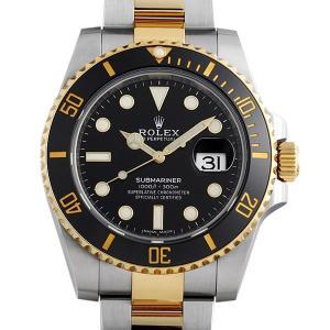 48回払いまで無金利 ロレックス サブマリーナ デイト 116613LN ランダムシリアル 中古 メンズ 腕時計|ginzarasin