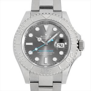 【48回払いまで無金利】ロレックス ヨットマスター ロレジウム 116622 ダークロジウム 中古 メンズ 腕時計