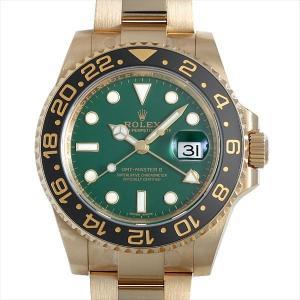 ロレックス GMTマスターII D番 116718LN グリ...