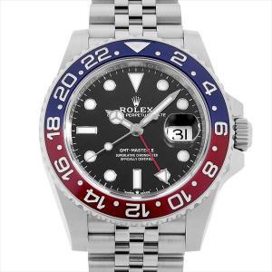 48回払いまで無金利 ロレックス GMTマスターII 126710BLRO 中古 メンズ 腕時計|ginzarasin