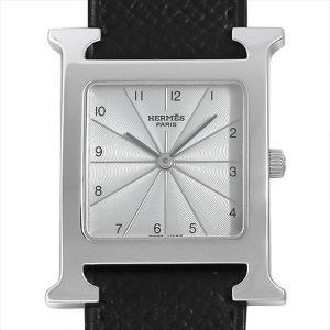 48回払いまで無金利 エルメス Hウォッチ HH1.510.260 中古 ボーイズ 腕時計|ginzarasin