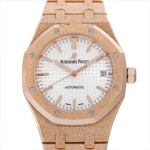 48回払いまで無金利 オーデマピゲ ロイヤルオーク フロステッドゴールド 15454OR.GG.1259OR.01 中古 メンズ 腕時計|ginzarasin