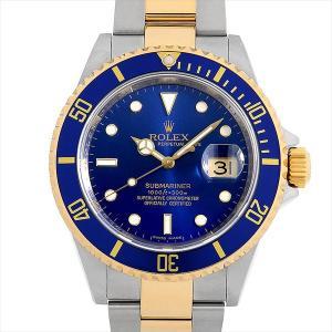 ロレックス サブマリーナ デイト Y番 16613 ブルー ...