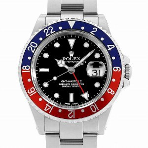 ロレックス GMTマスターII 赤青ベゼル A番 16710...