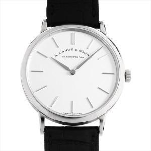 48回払いまで無金利 ランゲ&ゾーネ サクソニア フラッハ 201.027(LS2013AM) 中古 メンズ 腕時計|ginzarasin