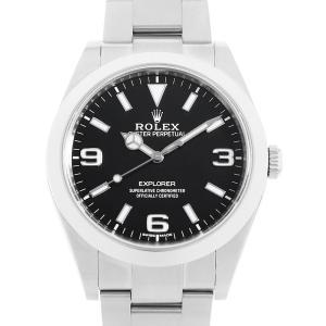 【48回払いまで無金利】ロレックス エクスプローラー ランダムシリアル 214270 中古 メンズ 腕時計