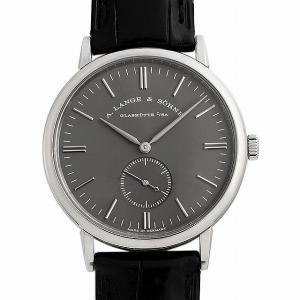 60回払いまで無金利 ランゲ&ゾーネ サクソニア 215.029 中古 メンズ 腕時計|ginzarasin