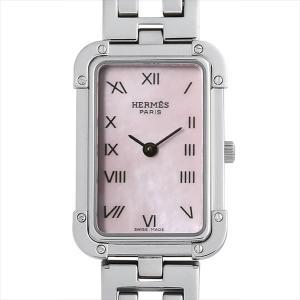 48回払いまで無金利 エルメス クロアジュール CR2.210.214/3799 中古 レディース 腕時計|ginzarasin