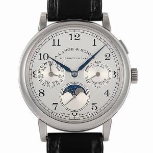 48回払いまで無金利 ランゲ&ゾーネ 1815 アニュアルカレンダー 238.026 中古 メンズ 腕時計|ginzarasin