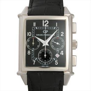 ジラールペルゴ ヴィンテージ 1945 XXL クロノグラフ 25840.0.53.6056 中古 メンズ 腕時計 ginzarasin