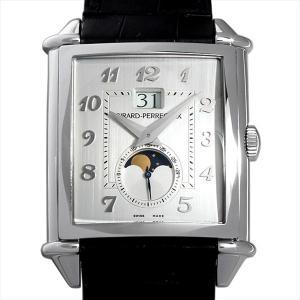 ジラールペルゴ ヴィンテージ1945 XXL ラージデイト ムーンフェイズ 25882-11-121-BB6B 中古 メンズ 腕時計 ginzarasin