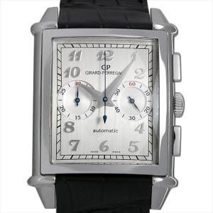 ジラールペルゴ ヴィンテージ 1945 XXL クロノグラフ 25883-11-121-BB6C 中古 メンズ 腕時計 ginzarasin