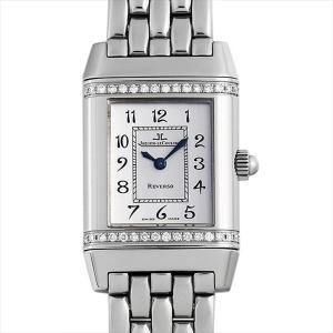 48回払いまで無金利 ジャガールクルト レベルソ フローラル ベゼルダイヤ 265.8.08 中古 レディース 腕時計|ginzarasin