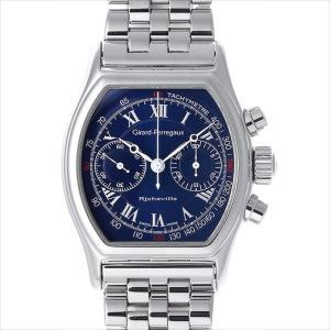 48回払いまで無金利 ジラールペルゴ リシュビル クロノグラフ 2710 中古 メンズ 腕時計|ginzarasin