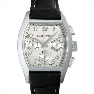 ジラールペルゴ リシュビル クロノグラフ 27650-11-141-BACD 中古 メンズ 腕時計 ginzarasin