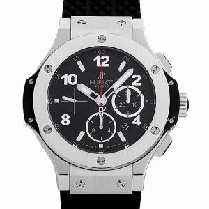 SALE 48回払いまで無金利 ウブロ ビッグバン スチール 301.SX.130.RX 中古 メンズ 腕時計 ginzarasin