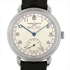 48回払いまで無金利 SALE ヴァシュロンコンスタンタン ヒストリーク トリプルカレンダー 1942 3110V/000A-B425 中古 メンズ 腕時計|ginzarasin