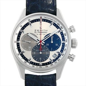 48回払いまで無金利 ゼニス エルプリメロ 36000VPH 03.2150.400/69.C713 中古 メンズ 腕時計 ginzarasin