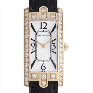 48回払いまで無金利 SALE ハリーウィンストン アヴェニュー ベゼルダイヤ 330/LQGL.M/D3.1 中古 レディース 腕時計|ginzarasin