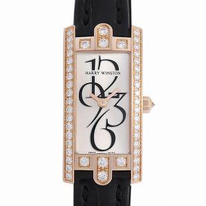 最大2万円OFFクーポン配布 ハリーウィンストン アヴェニューC ミニ ベゼルダイヤ 332/LQRL.M/D3.1 中古 レディース 腕時計 48回払いまで無金利|ginzarasin