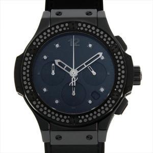 48回払いまで無金利 ウブロ ビッグバン オールブラック シャイニー 341.CX.1210.VR.1100 中古 メンズ 腕時計|ginzarasin