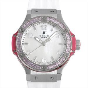 ウブロ ビッグバン トゥッティ フルッティ ローズ 361.SP.6010.LR.1933 中古 メンズ 腕時計|ginzarasin