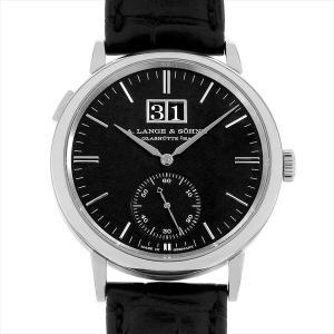 60回払いまで無金利 ランゲ&ゾーネ サクソニア アウトサイズデイト 381.029(LS3813AD) 中古 メンズ 腕時計|ginzarasin