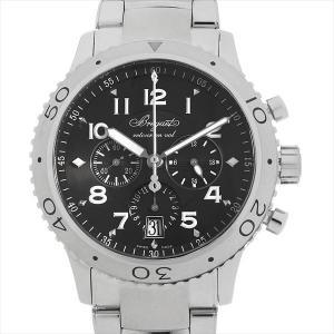 48回払いまで無金利 ブレゲ トランスアトランティック タイプXXI 3810ST/92/SZ9 中古 メンズ 腕時計|ginzarasin
