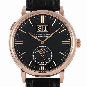 48回払いまで無金利 ランゲ&ゾーネ サクソニア ムーンフェイズ 384.031(LS3844AP) 中古 メンズ 腕時計|ginzarasin