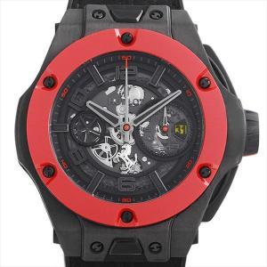 48回払いまで無金利 ウブロ ビッグバン フェラーリ カーボン レッドセラミック 世界限定500本 402.QF.0110.WR 中古 メンズ 腕時計|ginzarasin