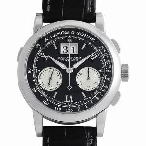 48回払いまで無金利 ランゲ&ゾーネ ダトグラフ 403.035 中古 メンズ 腕時計|ginzarasin
