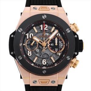 48回払いまで無金利 SALE ウブロ ビッグバン ウニコ キングゴールド セラミック 411.OM.1180.RX 中古 メンズ 腕時計 ginzarasin