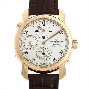 48回払いまで無金利 ヴァシュロンコンスタンタン マルタ デュアルタイム レギュレーター 42005/000J-8901 中古 メンズ 腕時計|ginzarasin