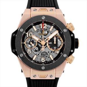 48回払いまで無金利 ウブロ ビッグバン ウニコ キングゴールド セラミック 441.OM.1180.RX 中古 メンズ 腕時計|ginzarasin