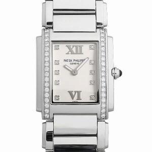パテックフィリップ トゥエンティ4 4910/10A-011 中古 レディース 腕時計|ginzarasin