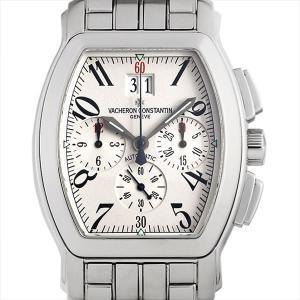 最大5万円オフクーポン配布 ヴァシュロンコンスタンタン ロイヤルイーグル クロノグラフ 49145/339A-9058 中古 メンズ 腕時計 48回払いまで無金利 ginzarasin