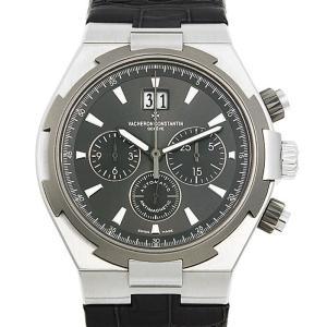 48回払いまで無金利 ヴァシュロンコンスタンタン オーヴァーシーズ クロノグラフ 49150/000W-9501 中古 メンズ 腕時計|ginzarasin