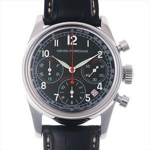 ジラールペルゴ ラリーモンテカルロ 1965 クロノグラフリミテッド 49460-11-611-0 中古 メンズ 腕時計 ginzarasin