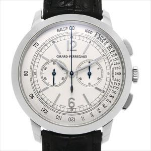 48回払いまで無金利 ジラールペルゴ 1966 クロノグラフ 49539-53-151-BK6A 中古 メンズ 腕時計|ginzarasin