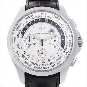 48回払いまで無金利 ジラールペルゴ トラベラー ムーンフェイズ&ラージデイト 49700-11-631-BB6B 中古 メンズ 腕時計|ginzarasin