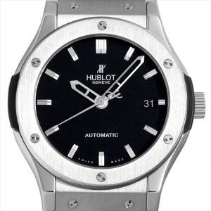ウブロ クラシックフュージョン ジルコニウム 511.ZX.1170.NX 中古 メンズ 腕時計|ginzarasin