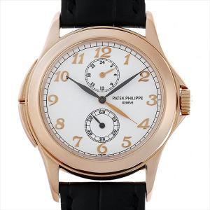 パテックフィリップ トラベルタイム 5134R-001 中古 メンズ 腕時計|ginzarasin